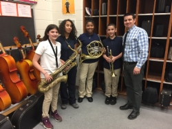 Winslow Twp School #6 Students Selected to Honors Band