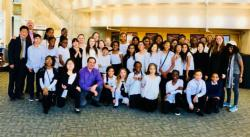 School 5 & 6 Students performed at Stockton University's Inaugural String Day Festival, March 14, 2018