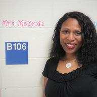 Congratulations Mrs. McBride! in the spotlight